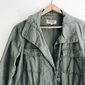 Ecoté Green Army Jacket